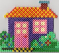 House hama beads by lolita81