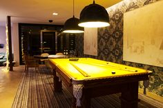 Mostra Black 2012 Poker Table, Loft, Furniture, Home Decor, Game Room, Yellow, Environment, Gourmet, Houses