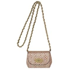 Mulberry - Mini Lily in Pinky Mink Metallic Snake Suede Mulberry Lily, Fashion Watches, Bucket Bag, Leather Bag, Snake, Women Wear, Style Watch, Handbags, My Style
