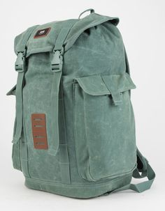 VANS Off The Wall Backpack - GREEN - VN0A2X2Y1CI-1CI. RyggsäckarKreativGrön 851fb91079d84