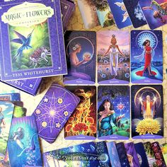 The Magic of Flowers Oracle Card Deck Review / Photo © www.VioletAura.com -- I've ordered