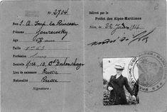 French passport of Princess Katia Yuryevskaya, 1916 _BM