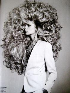 MAGIC HAIR BY RICHARD BURBRIDGE #VOGUE BEAUTY NOVEMBER 2012
