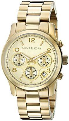 Michael Kors Midsized Chronograph Gold Tone Womens Watch MK5055 Michael Kors http://www.amazon.com/dp/B000XJ7GFK/ref=cm_sw_r_pi_dp_Tqtmwb07V4PWC