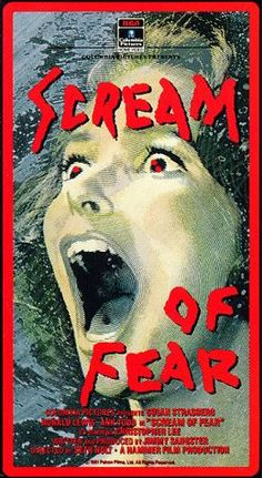 Scream of Fear poster.