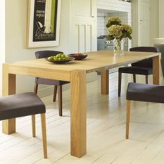 Heal's | Portland Extending Dining Table In Oiled Oak - Extending Tables - Dining Tables - Furniture