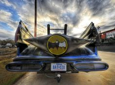 Batman's used wheels ended up in Austin: Flickr photo of the day