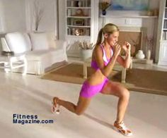 Burn tons of calories with explosive lunges.