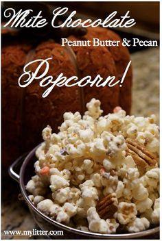 How to make White Chocolate Popcorn