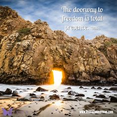 The doorway to freedom is total presence