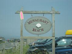 Menauhant beach. 2007.