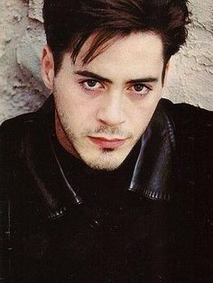 Young Robert Downey jr #handsome #hot #sexy #celebrity #hunk