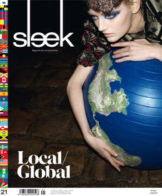 SLEEK Magazine issue 21 | Photographer: les deux garcons| Model: Lydia Hearst #sleek #sleekmag #lydiahearst #magazine #berlin #cover #editorial