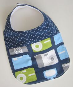 Baby Boy Bibs - Photographer Baby Assistant / Teething Bibs from Babiease Etsy shop $12.00 use