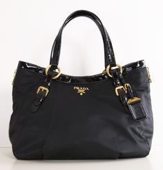 1e1cacb15e65 PRADA TOTE  my newest handbag for the fall. I m in ❤ New