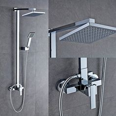 "Auralum Bathroom Mixer Shower Set with Square 8"" Shower H... https://www.amazon.co.uk/dp/B012XOEW9A/ref=cm_sw_r_pi_dp_x_5OPCybFQZYXQ0"