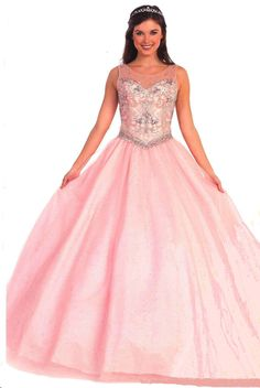 Quinceanera Dresses Ball Gowns<BR>81033<BR>Sweetheart bodice scoop neckline sheer illusion overlay dotted with a design of bead work
