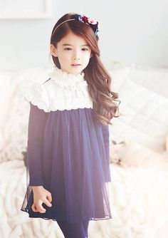 Image de asian, girl, and kids Cute Fashion, Kids Fashion, Cute Kids, Cute Babies, Cute Baby Girl Images, Chica Cool, Baby Model, Ulzzang Kids, Asian Kids