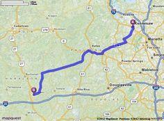 McDonalds Bremen Georgia JUNE GEORGIA Pinterest - Mapquest georgia