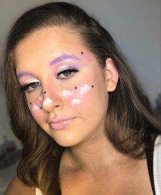 Creative makeup look Creative Makeup Looks, Becca, Pink Purple, Make Up, Photo And Video, Face, Instagram, Maquillaje, Makeup