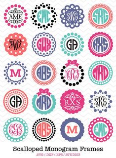 64 ideas for embroidery monogram shirts vinyl cutter Vinyl Monogram, Free Monogram, Monogram Shirts, Monogram Frame, Monogram Design, Monogram Fonts, Monogram Stickers, Monogram Initials, Embroidery Monogram