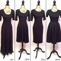 LuLaRoe Dress Comparison Join my shopping group! LuLaRoe Michelle Buxkemper- https://m.facebook.com/groups/304177143273836/ Lularoe Dresses Nicole, Lularoe Clothes, Lularoe Amelia Dress, Lularoe Julia, My Lularoe, Lularoe Sizing, Dress Styles, Lularoe Consultant, Ds