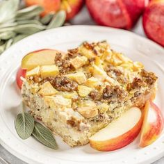 The Best Homemade Dinner Rolls Ever! All your favorite breakfast staples come together in an easy to make Sausage and Apple Breakfast Strata. Perfect for breakfast or brunch and it can even be made the night before. Breakfast Strata, Apple Breakfast, Breakfast Recipes, Breakfast Enchiladas, Breakfast Dishes, Breakfast Casserole, Breakfast Ideas, Chocolate Chip Shortbread Cookies, Sugar Cookies