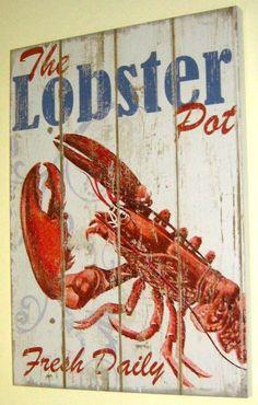 Lobster Sign #JoesCrabShack