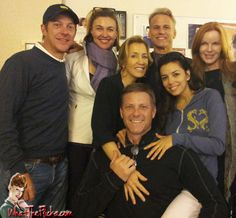 Desperate Housewives   Group Hug at the Final Table Read
