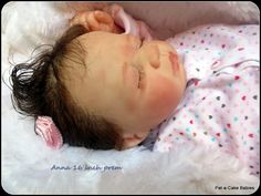 Prem baby Anna. There are not many prems to make but I loved making this little girl.