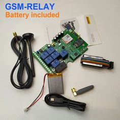 Free shipping New version Seven relay output GSM remote control board with iPhone and android app support Sale Only For US $38.50 on the link