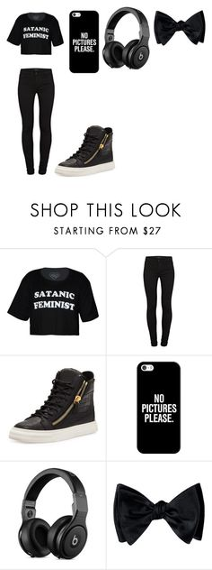 """""""Untitled #220"""" by candysmash6252 on Polyvore featuring J Brand, Giuseppe Zanotti and Casetify"""
