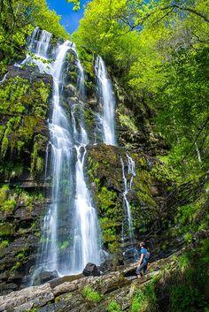 La cascada Seimeira en Santa Eulalia de Oscos