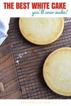 This is an easy and simple white cake recipe that you'll make again and again! A moist, from scratch recipe just like Grandma's!