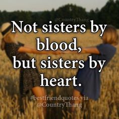 Not Sisters By Blood But Sisters By Heart Gifts