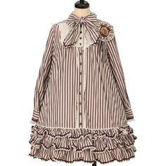 Quirky Fashion, Angelic Pretty, Striped Dress, Ruffles, Fairy, Take That, Shopping, Vintage, Dresses