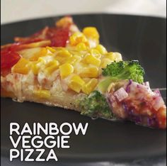Rainbow Veggie Pizza A bright, happy and healthy pizza topped with many veggies. A guilt-free pizza for family and friends. Easy Weight Loss, Healthy Weight Loss, Lose Weight, Reduce Weight, Veggie Pizza, Pizza Pizza, Dough Pizza, Pizza Food, Food Food
