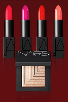 The Jury's Choice: Legendary makeup artist Francçois Nars knows color, whether it's practically invisible foundations and natural—looking blushes or bold lipsticks and bright eyeshadows that pop. To celebrate the 20th anniversary of his brand, he outdid himself with the Audacious Lipstick collection (intense full—coverage colors with a matte finish)    - MarieClaire.com