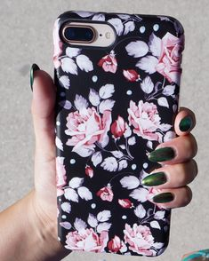 Falling for blush Blush Rose floral case for iPhone #iphone8pluscase,