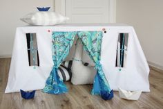 Hey, I found this really awesome Etsy listing at http://www.etsy.com/listing/119287795/playhouse-tablecloth-cou-cou