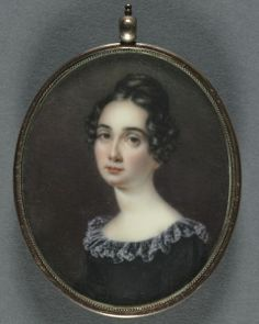 Canvas Print-Portrait of a Woman, Creator: Anna Claypoole Peale (American, inch Box Canvas Print made in the UK Miniature Portraits, Miniature Paintings, Fine Art Prints, Framed Prints, Cleveland Museum Of Art, Image Collection, Photographic Prints, Poster Size Prints, Portraits