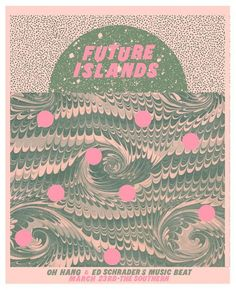 Future Islands | The Southern, Charlottesville VA 2014 | Designer: Thomas Dean