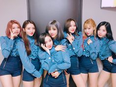 DREAMCATCHER CUTE SEXY FUNNY HOT RED STAGE BLUE BEAUTIFUL KPOP GIRL GROUP ROCK POP Kpop Girl Groups, Korean Girl Groups, Kpop Girls, Extended Play, Jiu, Kim Min Ji, Pin Pics, Metal Girl, Friend Outfits