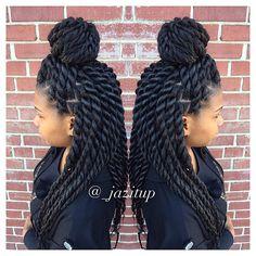 85 Box Braids Hairstyles for Black Women - Hairstyles Trends Twist Braid Hairstyles, Twist Braids, Protective Hairstyles, Pretty Hairstyles, Girl Hairstyles, Updo Hairstyle, Black Hairstyles, Havana Twists, Dutch Braids