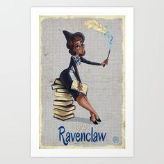1940's Ravenclaw Inspired Girl - $15