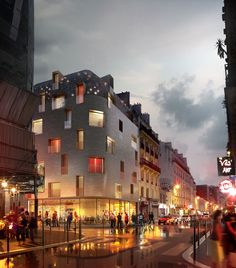 "Ronenbekerman ""Making Of"" - Thomas Vournazos, from Slashcube, posted on the forums a super cool looking visual of Hotel 114 – A small project he did for a hotel design in Oberkampf area in Paris. Showcasing a vibrant, night life scenario, was the main goal for this image and nicely done. Using Maxon's Cinema 4D along with Corona for …"