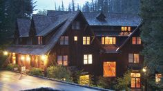While visiting the caves of Oregon, why not stay in a house with modern comforts and pioneer sensibility, like these log cabins? Discover more at www.discoveramerica.com