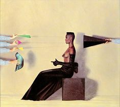 Grace Jones - Libertango - 1981 © Jean-Paul Goude