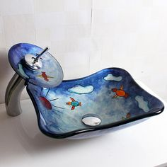 a lovely cartoon sink