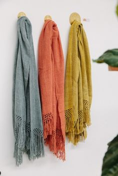 Our new plant dyed fresh colours of Puna throws